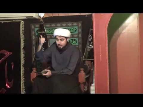 [4] Shaykh Mahdi Rastani  Muharram 1438/2016 IEC -San Antonio USA - English