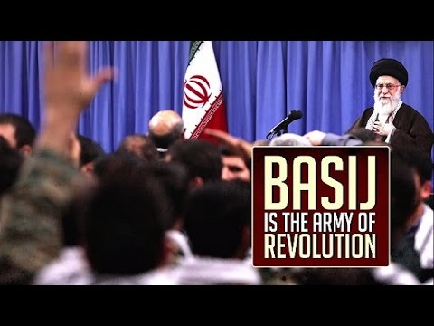 Basij is the army of revolution! | Farsi sub English