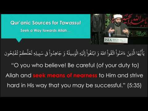 Tawassul Series: The Reality of Tawassul Part 3 - English