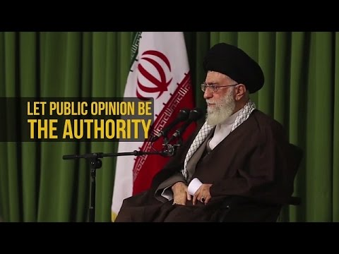 IRAQ: Let Public Opinion be the Authority | Leader of the Muslim Ummah | Farsi sub English