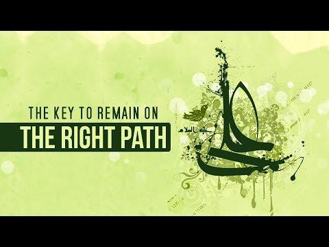 How to remain on the Right Path | Shaykh Usama Abdulghani | English