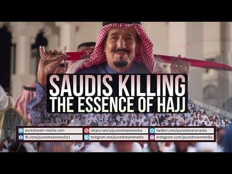 Saudis Killing the Essence of Hajj | Farsi sub English