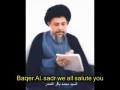 Tribute to Ayatullah Muhammad Baqir as-Sadr - Ya Shaheedan - Arabic English Sub
