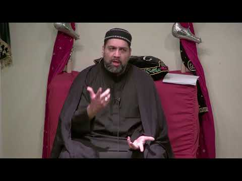 10th Ramadan 1439AH - Bridging Today\'s Generation Gap - Maulana Asad Jafri 2018 English