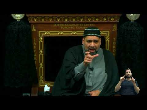 [03. Majlis] Topic: Illumination of The Inner Light - Syed Asad Jafri Muharram 1440 2018 Toronto Canada English