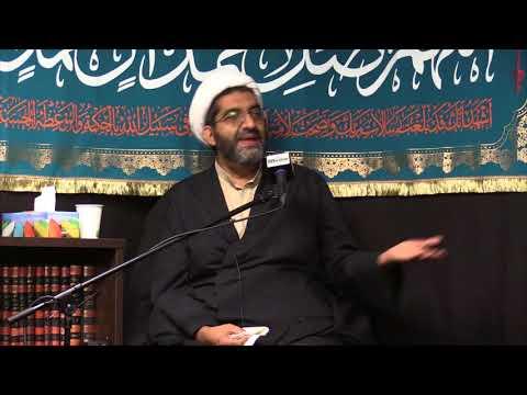 [3] Topic:The Infallibles\' Struggle for Justice | Sheikh Shafiq Hudda | English