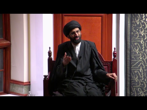 [8] Topic: Connect with the Mission/Revolution of Imam Hussain(A) | H.I. Sulayman Abidi | English