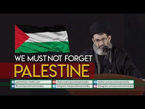 WE MUST NOT FORGET PALESTINE | Sayyid Hashim al-Haidari | Arabic Sub English
