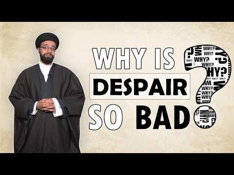Why is Despair so bad? | One Minute Wisdom | English