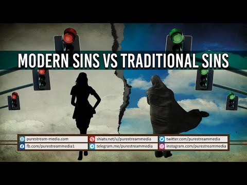 Modern Sins VS Traditional Sins | Dr. Rahimpour Azghadi | Farsi Sub English