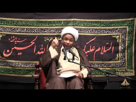 [Muharram 2019 Night 1] Topic:Truth,trial Triumph   Shaykh Usama Abdulghani English