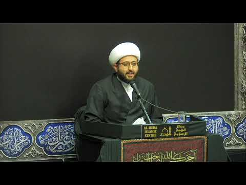 [Night 4] Topic:Love of Ahlul Bayt (AS) In Our Sources - Sheikh Amin Rastani - Muharram 1441/2019 English