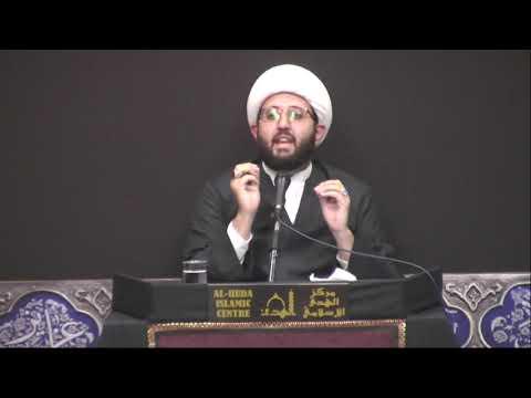 [Night 5] Topic: Love of Ahlul Baith A.S - Sheikh Amin Rastani - Muharram 1441/2019 English