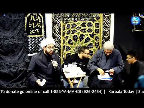 [Discussion] Karbala Today | Sheikh Murtaza Bachoo & Sheikh Amin Rastani | Sept.06,2019 English
