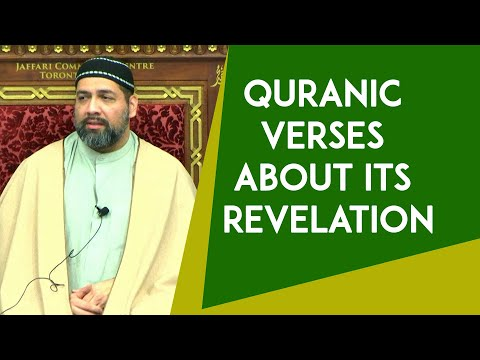 [Clip] The Beauty Behind The Quran And Its Revelation - Syed Asad Jafri 2020 - English
