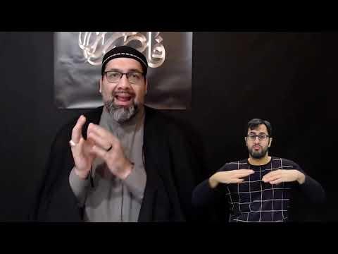 [4] Majlis Ayyam e Fatimiyya 1442 | Maulana Syed Asad Jafri | 15 Jan 2021 | English