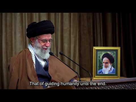Eid Mab\\\'ath (Beginning of Prophet Muhammad\\\' mission) | Speech | Ayatollah Khamenei | 2021 - Farsi sub Eng