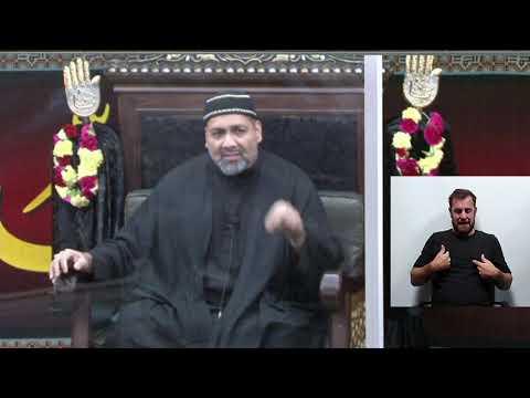 [08] Topic: Cultivating an Islamic Identity in a Postmodern Era - Syed Asad Jafri - 8th Muharram 1443,2021 English