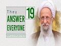[19] They Answer Everyone   Ayatollah Misbah-Yazdi   Farsi Sub English