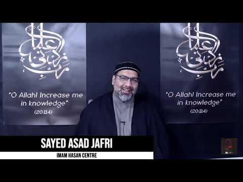 [Majlis 1] Arbaeen I Sayed Asad Jafri   Safar 1443-2021   English