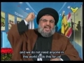 Sayyed Hassan Nasrallah - Speech HQ Feb16th2010 - Anni.Of Martyr Emad Mugniyah - Arabic Sub English