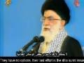 [ALERT FOR SHIA AND SUNNI] by Leader of the Islamic Ummah - Farsi sub Arabic sub English