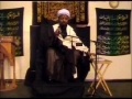 18th Ramadhan 2010 - Benefits of Fasting - Sheikh Jafar Muhibullah - English
