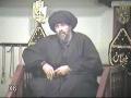 Safar 1432 Majlis 1 at Zainabia - H.I. Abbas Ayleya - English