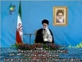 Excerpt from Ayatullah Khamenei Nowruz Speech - Farsi sub English