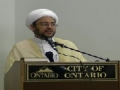 Lecture 1 on Rulings of the Fast - H.I. Hyder Shirazi - Ramadan 2011 - English