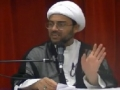 [Ramadhan 2012][7] Optimism with Allah 2 & Will of Imam Ali AS to Imam Hasan AS - H.I. Hyder Shirazi - English