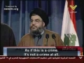 Hassan Nasrallah speeches short - Arabic sub English