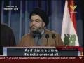 Hassan Nasrallah speeches short - Arabic sub English