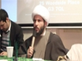 Reviving Spirituality - Q&A Session - Sheikh Hamza Sodagar - English