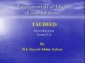 [abbasayleya.org] Usool-ud-deen - TAUHEED 1 - Intro - English
