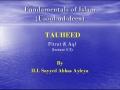 [abbasayleya.org] Usool-ud-deen - TAUHEED 3 - Fitrat and Aql - English