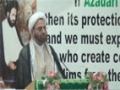 [05] H.I. Hurr Shabbiri  - 26th Martyrdom Anni. Shaheed Arif Al-Hussaini - 03 Aug 14 - English