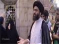 [Spiritual Journey to Iraq] Place where Second arm of Hazrat Abbas A.S fell - H.I Ali Raza - Jun 14 - Urdu & English