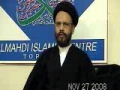 Shahadat Imam Taqi Al Jawad A.S by Zaki Baqri - 27Nov08 - English and Urdu