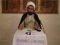 [Lecture 28] Islamic Theology - Sheikh Dr Shomali - 14/10/2015 - English