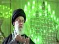 Ayatollah Khamenei performing prayers in the mausoleum of Imam Khomeini - All Languages